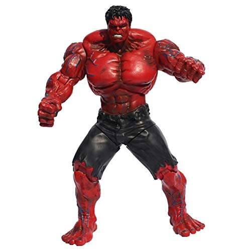 WFF Avengers Spielzeug - Super Heros 26cm Die rote Hulk Action Figure Super Hero Toy