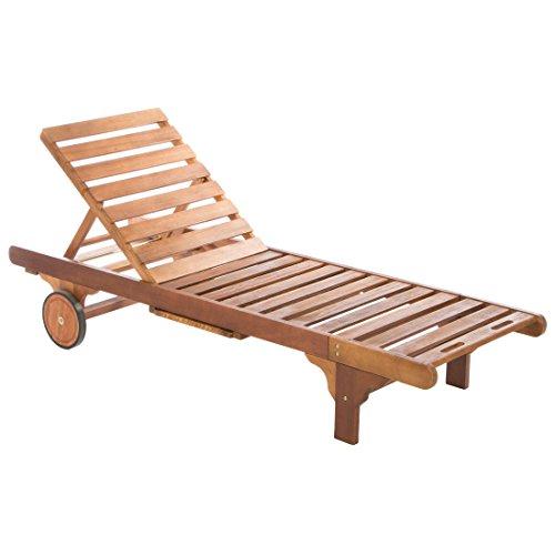 Tumbona de madera para jardín Ultranatura