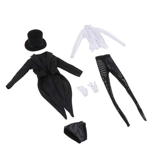ZSMD 1/6 Scale pak + shirt + kous + hoed + ondergoed voor 12 inch Action Figure