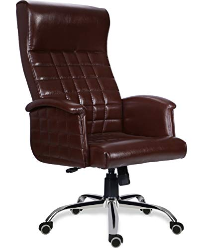Green Soul Elite High Back Leatherette Dynamic Chair (Brown)