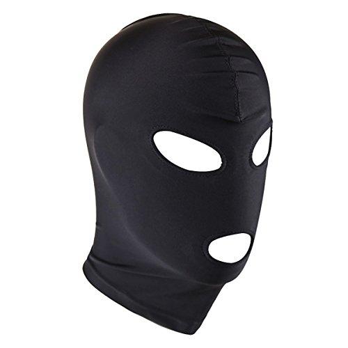 Freebily Pasamontaña Capucha Casco Máscara Disfraz de Fiesta Estirable Permeable al Aire para Adulto Mujer Hombre Cosplay Ojos y Boca Talla Única