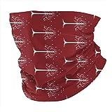 LOTR Tree Gondor Rotated Face Mask Shield Protective for Men & Women Fashion Variety Head Scarf Balaclava Black