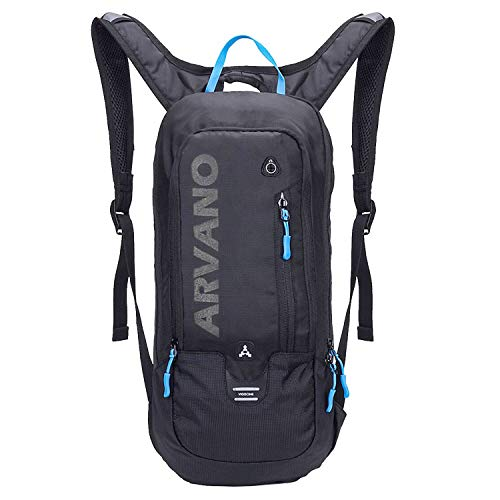 Arvano Mountain Bike Backpack Cycling Backpack - Biking Daypack Small Ski Rucksack,Lightweight Breathable Backpack 6l for Bicycle Riding Hiking Climbing Skiing Running Bag Women Men