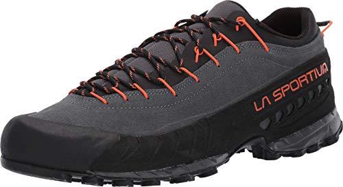 La Sportiva TX4 Approach Shoe, Carbon/Flame, 45.5