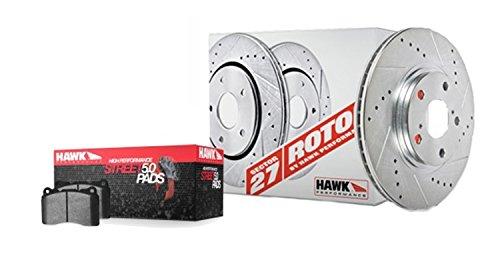 Hawk Performance HK4281.519B Brake Rotor with HPS 5.0 Pad Kit