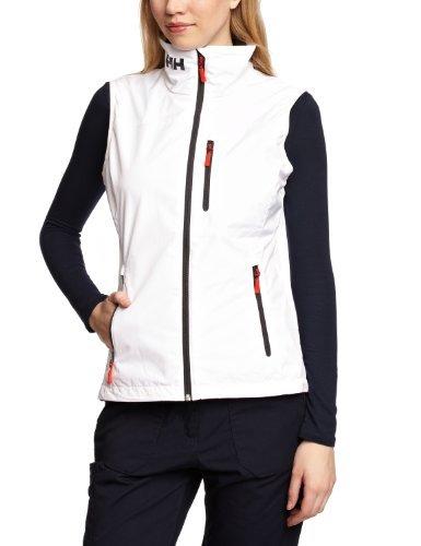 Helly Hansen W Crew Vest Gilet Nautique Femme, Blanc, S