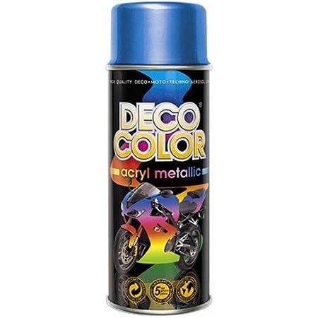 Fahrzeugteile Hoffmann Dc Lackspray Metallic 400ml Freie Farbeauswahl Lackspray Blau Mit Metallic Effekt Auto