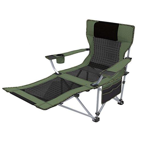 Klapstoel voor buiten, lounge fauteuil, draagbare rugleuning, lounge, stoel, strand, visstoel, lunchpauze