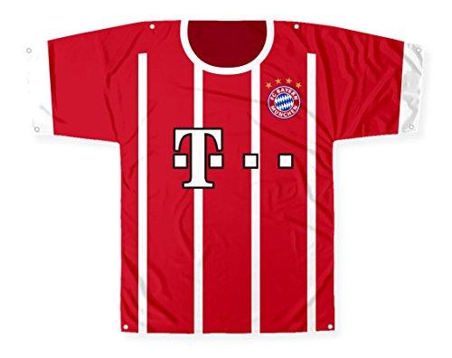 Big Time Jersey Bayern München Trikot-Flagge 144,8 x 114,3 cm