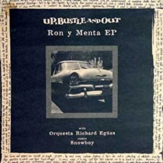Up, Bustle & Out - Ron Y Menta EP - Ninja Tune: Up, Bustle ...