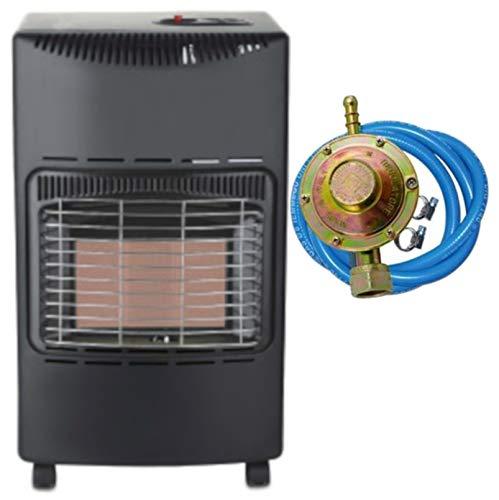 Stufa a gas infrarossi Tectro TGH242R 4200 W ODS sistema anti-ribaltamento ed assenza fiamma O2 REGOLATORE TUBO FASCETTE OMAGGIO
