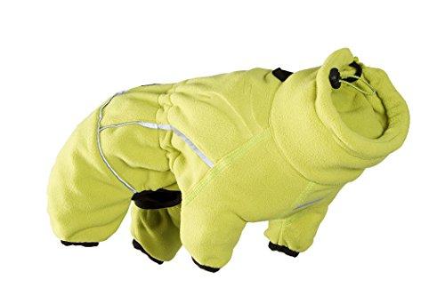 HURTTA Microfleece Overall für Hunde, birkengrün, 25M