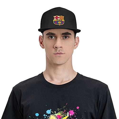 Fc Barcelona-Sport - Gorra de béisbol ajustable y cómoda, para hombre, color negro, Negro, Taille unique