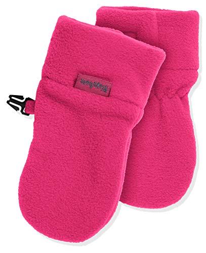 Playshoes Unisex - Baby Fäustling Kuschelweiche Fleece-Handschuhe, Baby Fäustel, Fäustlinge, Pink (Pink 18)