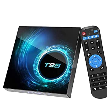 Android 10.0 TV Box 4GB Ram 64GB ROM,EASYTONE TV Box Android Media Player Quad-Core CPU Support Dual-WiFi 2.4G/5GHz Bluetooth USB 6K Ultra HD H.265 Ethernet Smart TV Box