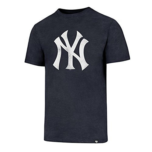 '47 MLB New York Yankees Knockaround Club Camiseta, Navy, X-Large Hombre