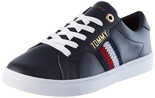 Tommy Hilfiger Venus 40a, Sneakers Mujer, Azul, 40 EU