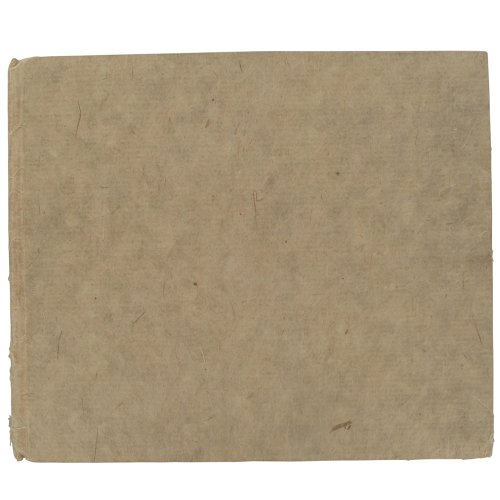 KHADI HARDBACK BOOK 21 x 25 cm White Rough by Khadi Papers