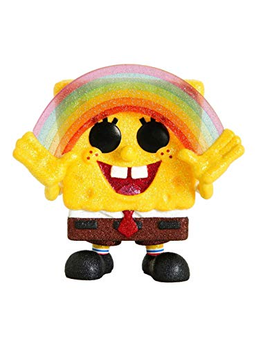 Funko POP! Diamond Collection Spongebob Squarpants #558 Exclusive Bundled with Free PET Compatible .5mm Extra Rigged Protector