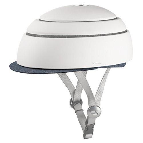 Closca Helmet Visor Niagara Fahrradhelm Erwachsene, Unisex, Blau, L 26,9 cm x B 21,9 cm x H 4 cm