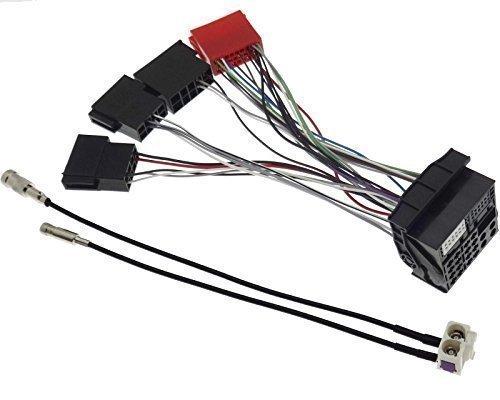 Einbauset Adapter Antennenadapter Navigation Kabel passend für Audi RNS-E A2 A3 A4 A6 A8 TT