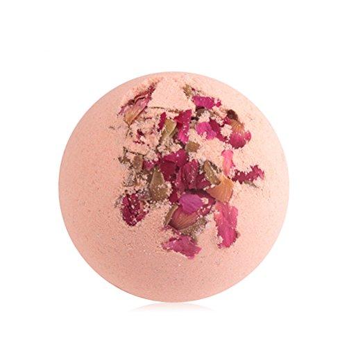 ROSENICE Bombes de Bain Boules effervescentes pour Femmes Jeunes filles (Rose)