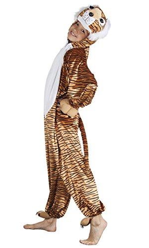 Boland - 88259 Costume de survêtement en peluche pour enfants, marron/noir, max 1,16 m