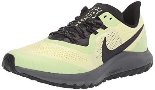 Nike Wmns Air Zoom Pegasus 36 Trail, Zapatillas de Atletismo para Mujer, Multicolor (Luminous Green/Burgundy Ash/Black 300), 39 EU