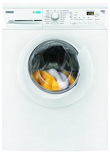 Zanussi ZWF81443W Waschmaschine FL / 1400 UpM / 8 kg / GentleCare Trommel / LC-Display