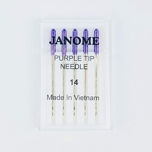 Purple Tip Sewing Machine Needles Size 90/14