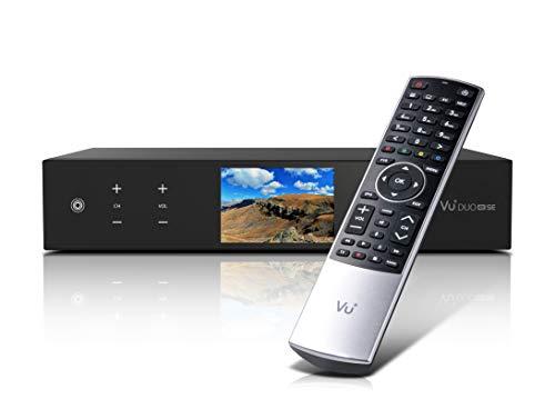 VU+ Duo 4K SE BT 1x DVB-S2X FBC Twin Tuner 2 TB HDD Linux Receiver UHD 2160p