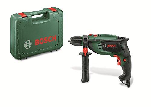 Bosch Schlagbohrmaschine UniversalImpact 700 (Zusatzhandgriff, Tiefenanschlag, Koffer, 700 Watt)