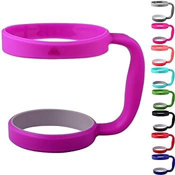 30oz Tumbler Handle  PURPLE  by STRATA CUPS - Available For 30oz YETI Tumbler OZARK TRAIL Tumbler Rambler Tumbler- BPA FREE