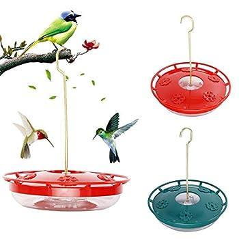 Abreuvoir à Eau pour Oiseaux mangeoire à colibris avec 4 Ports Fournitures pour Oiseaux pour Animaux de Compagnie Distributeur Bouteille Tasse à Boire Bols