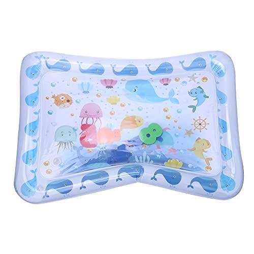 Tummy Time Baby Water Mat, Inflable Water Play Mat Niños Bebés, Tummy Playmat para Recién Nacido Niño Niña Niños Pequeños, Bebé Infantil Regalos al Aire Libre Juguetes