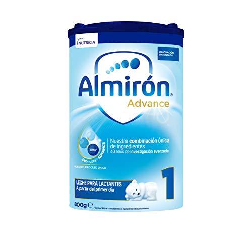 Almirón Advance 1, Leche de Inicio en Polvo para Bebé, a partir del Primer Día, 800g