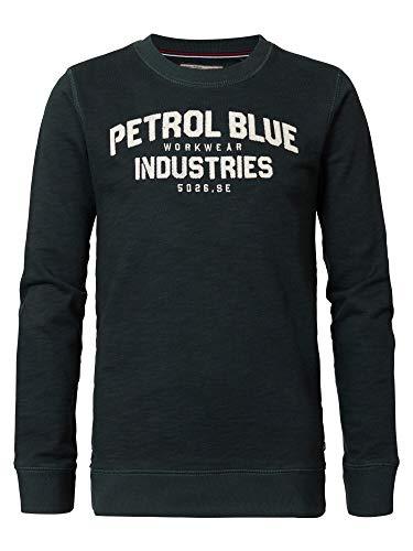 Preisvergleich Produktbild Sweater Petrol-Aufdruck