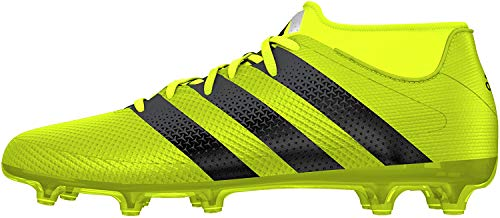 adidas Herren Ace 16.2 Primemesh FG/AG Fußballschuhe, Mehrfarbig (Mesh Syello/Cblack/Silvmt), 42 EU