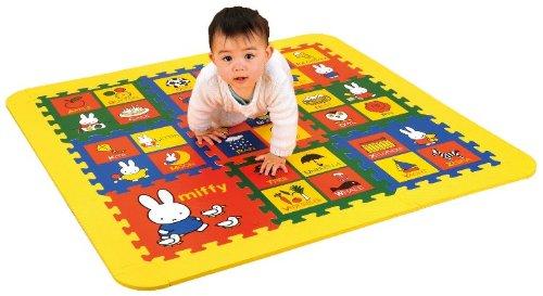 ABC puzzle mat soft Miffy (japan import)