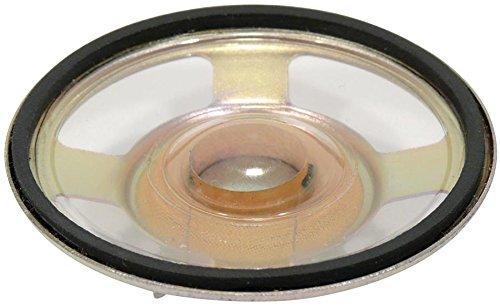 Visaton Miniaturlautsprecher 5.7 cm 8 Ohm 3 W, Mit wasserfester, transparenter Mylarmembran (973977000446)