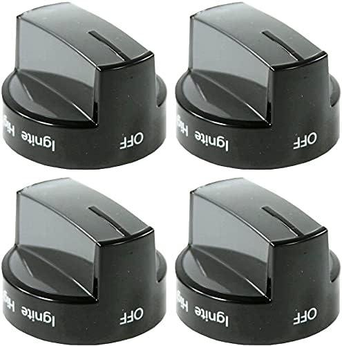 Replacement for Whirlpool W10339442 Gas Black Knob Range Burner Regular Fashionable discount