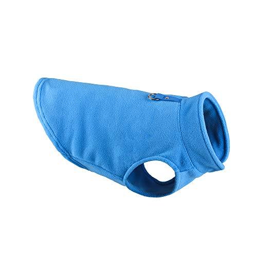 FURASTY Velón de Invierno Pet Pet Ropa para Perros Puppy Ropa Francesa Bulldog Coat Pug Vestuario Chaqueta para Perros pequeños Chihuahua Chaleco (Color : Royal Blue, tamaño : X-Large)
