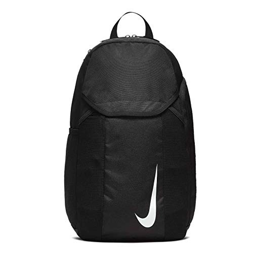 Nike Academy Team Fußballrucksack, Black/Black/White, One Size