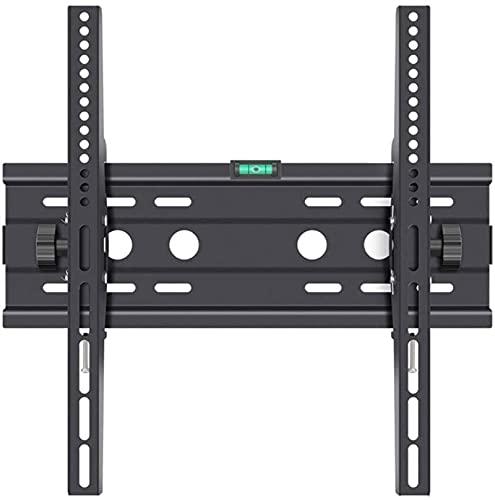 Lzpzz Soporte para TV de pared apto para la mayoría de pantallas LCD de TV de 26 a 55 pulgadas, máximo VESA400 x 400 mm, se puede inclinar 15 grados, ahorrar espacio máximo soporte de 50 kg
