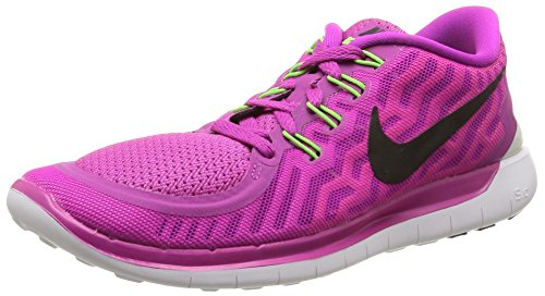Nike Women's Free 5.0 Running Shoes Anthracite/Black/Blue Lagoon Size 9.5 M US