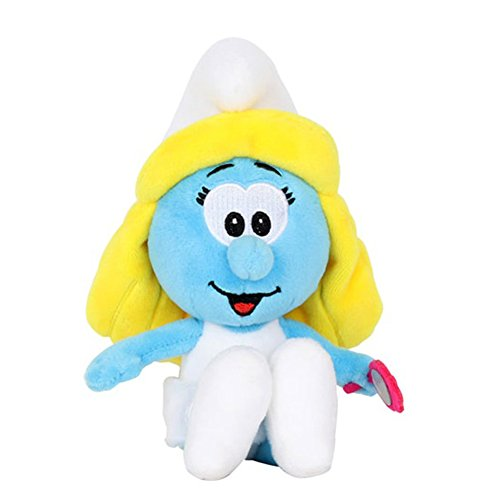 Smurfs Smurfette, Stuffed Animals Plush Toy for Kids Backpack Clip 8'
