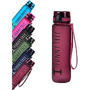Funny Tree Trinkflasche aus Tritan. 1000ml Very Berry. Water Bottle BPA frei und auslaufsicher! Ideal als Sportflasche, Wasserflasche und beim Wellness