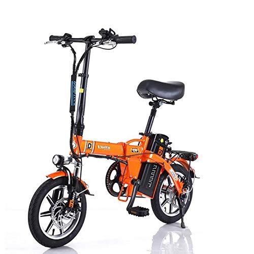 GUOJIN Bicicleta Electrica Plegables, 240W Motor Bicicleta Plegable 25 Km/H, Bici Electricas...