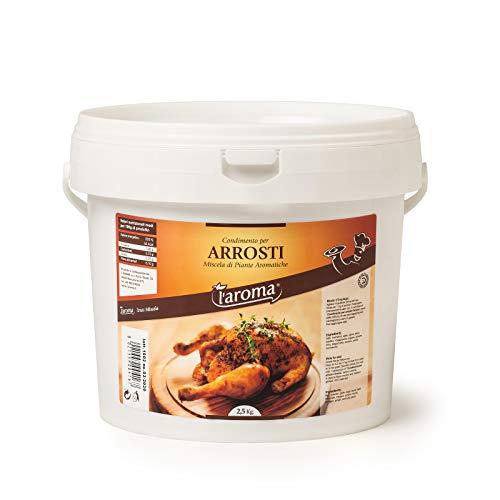 l'aroma condimento per arrosti secchiello da 2,5 kg composta da miscele di piante aromatiche