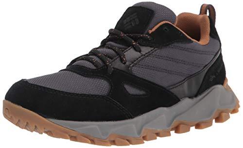 Columbia womens Ivo Trail Wp Sneaker, Dark Grey/Elk, 8.5 US